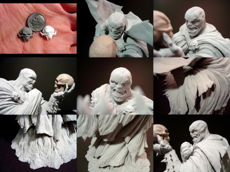 Spawn Statue - Detail shots by No-Sign-of-Sanity