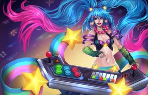 Lol - Arcade Sona by Enijoi
