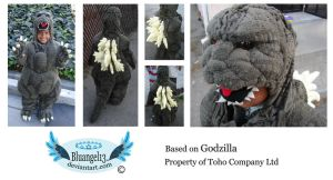 Little Godzilla by Bluangel13