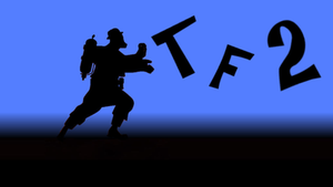 TF2 BLU Pyro Wallpaper by Zectric