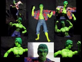 Custom TV's Hulk action figure by ayelid