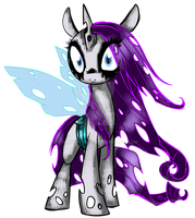 Changeling Rarity- Element of Vanity by Sakuyamon