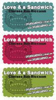 My business card YEAH by loveandasandwich