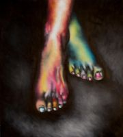 Foot Study by Overachiever22