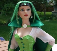 Emerald Empress custom Tonner Doll by BabyDollLJ