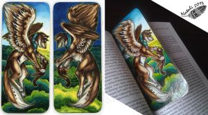 WingedWolfAlari Bookmark by Natoli