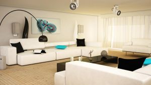 Living room V2 by NaZiiTo