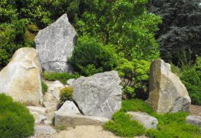 Stock: Japanese Rock Garden by Stock-By-Michelle