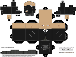 Cubee - Strax 'Doctor Who' by CyberDrone