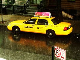 NYC Taxi II. by LouiseCypher