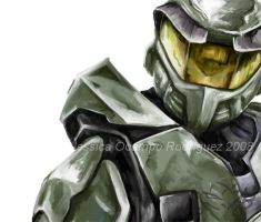 MasterChief by nightgallon