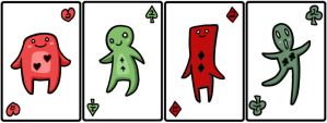 Playing cards - Numbers by catiniata