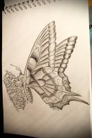 A Simple Butterfly by PatriciaG