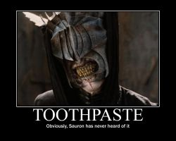 LOTR: Would it kill you to brush!? by BeautyAndStrength