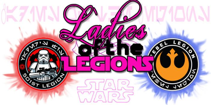 Ladies of the Legion, Logo v1 by StageDoorGraphix
