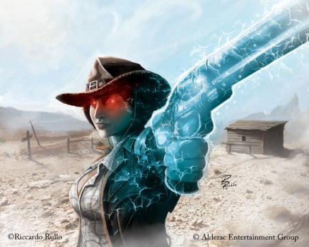 Doomtown: Maria Kingsford by shiprock