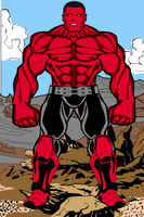 RED HULK by thetedness
