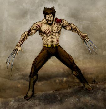 Bloody Wolverine by TuaX