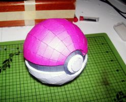 Pokeball Papercraft by Disease-of-Machinery