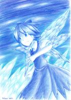 Ice Fairy Cirno by Porforever
