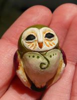 Wee Owl by Shalladdrin