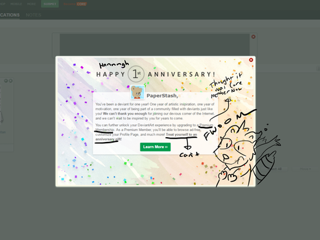 1st Anniversary by PaperStash