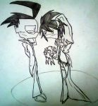 You look so... Beautiful Zim... by shadcream4eva by Z-A-D-R