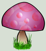 tainted toadstool by sewer-pancake