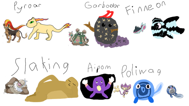 Pokemon Based on Memory by kittycat90888