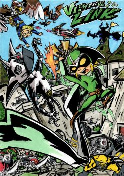 Viewtiful Link by Skull-the-Kid