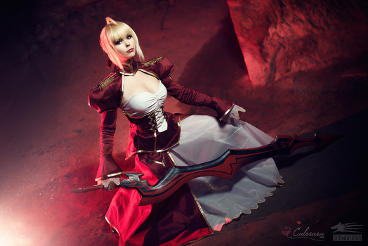 Saber Nero - Fate/Extra III by Calssara