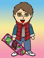 BTTF: Marty McFly by iRaccoon