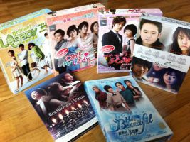 Kdrama Box Sets by Rin-luver