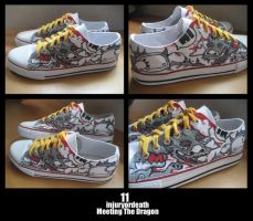 Customised Sneakers 11 by injuryordeath