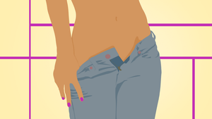 Tight-Jeans by ClearVector
