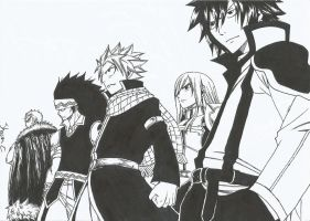 Team Fairy Tail by NeXusShawn