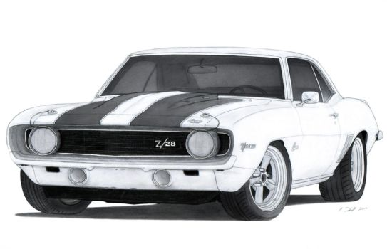 Cardrawingon 1970 Chevy Chevelle Ss Drawing