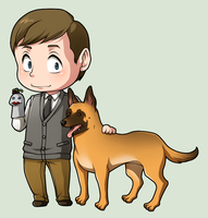 SPN Dogs #08 by NessaSan