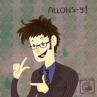 ALLONS-Y! by JasmineTwiL