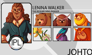 Lenina Trainer Card by static-mcawesome