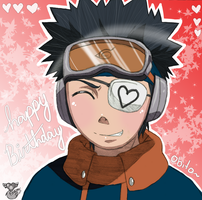 Happy Birthday Obito-kun X3 by Numbuh-9