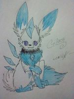 Glace - Art Trade by Gravitii-CS