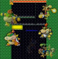 Baby Bowser Background by BowserJrOfficial