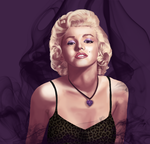 Marilyn Monroe Commission by JayRoseberry
