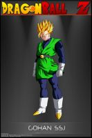 Dragon Ball Z - Gohan SSJ (Great Saiyaman) by DBCProject