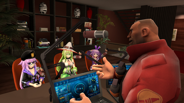 Podcast with the SFM Neppies by G-ManMobius