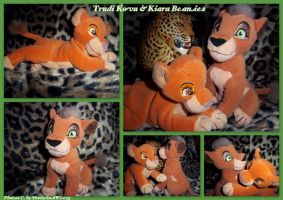 Trudi Kovu And Kiara Beanies by DoloAndElectrik