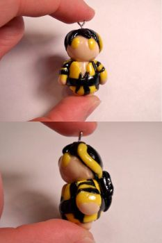 Made You Cry - K-Ryou charm (Kamen Rider Den-O) by SirIsaac