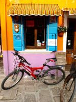 Venice - Burano Bicycle by AgiVega