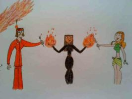 IzzyxTyler: Meeting Magma by CelticDragonQueen